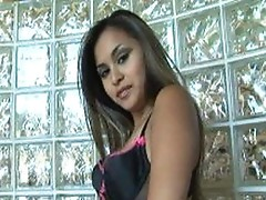 Michelle Maylene is dancing inside her little lingerie and exposing her dirty body