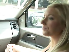Slutty amateur babe having boned by a stranger