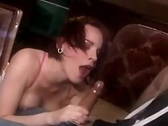 Smutty hot Dana DeArmond unable to live without the Massive banana sliDing in and out her Mouth