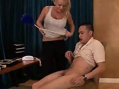 Bree Olson pleasuring female domination
