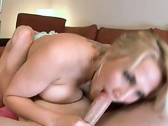 Face hole poking blowjob