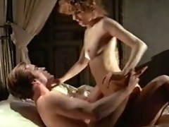 Stefania CaSini in nature's garb showing us her Marangos in Various sex scenes. from