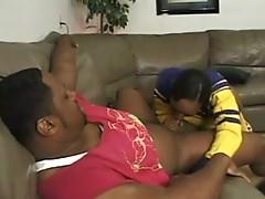 Ebony choke fuck