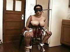 Latin Babe torture