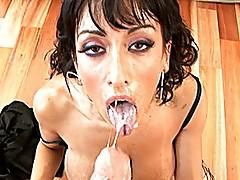 Sexy white woman pornstar
