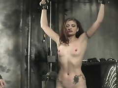 Chastise a hot serf girl