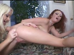 Lesbians eating pussy and ass holes deep tongues