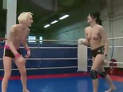 Sexy girls fight porn