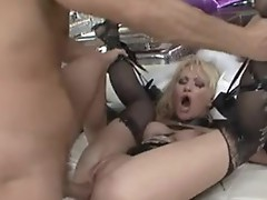 Anita hengher and Rocco Siffredi threesome hardcore