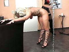 Flogged and caned