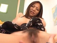 Busty teacher blowjob