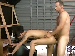 Pinky getting her mouth fuck hard