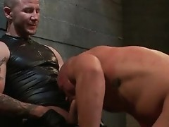 Brenn and Chad in extreme gay bondage