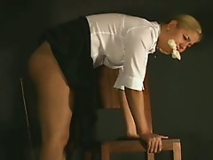 Nasty girls spanked
