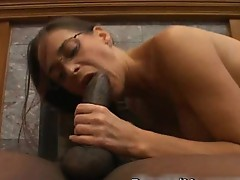Hot anal fuck with big black cock