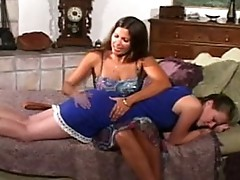 hot spanking lesbian scene