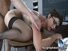 Mature Teacher Rides On Her Student