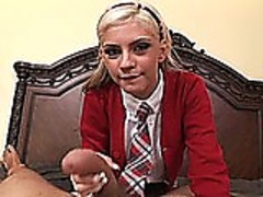 Christine Alexis Schoolgirl POV