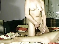 Great amateur wife handjob compilation - snake