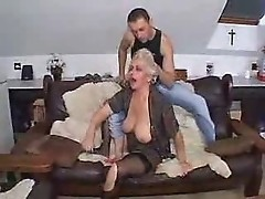 Drunk Granny Fucked by Grandson - by snahbrandy