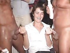 Real ladies with 2 dicks on hand