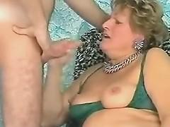 Granny Loves Cock 'n' Cum