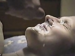 two huge facial jizz