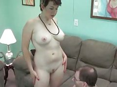 Milf Gobbling Up Prick For Camera