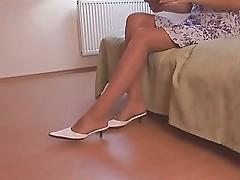 sexy shoeplay