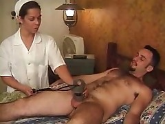 Shemale doctor fucked by her patient