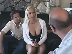 Watching His Wife fucked by A Young Guy...F70