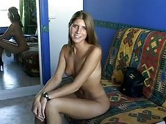 Gorgeous innocent teen analed in casting