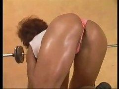 Kitana Steele fucked in the gym