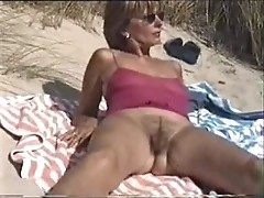 hairy armpits woman MARION BUSCH part1