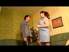 Horny German housewife