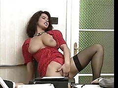 Secretary Angelica Bella satisfies administrators
