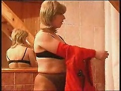 Lesbian shower seduction