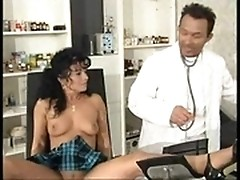 Fantastic Euro MILF fucking at the doctor's