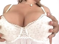 Laura treats her fucker with big natural boobs