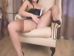 Lara in full fashion stockings hot phone sex