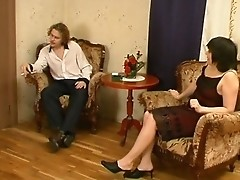 russian mature woman having sex with young guys