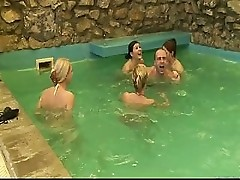 Pool Party Turns Into Sex Party