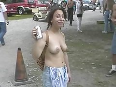 Fun at a Nudist rally 11