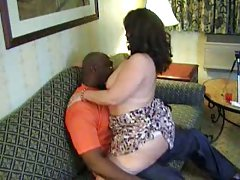BBW with ebony tentum