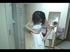 Japanese Girl Take a Shower