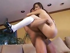 Japanese Teen With Mature