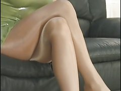Pantyhose Sylvia Saint
