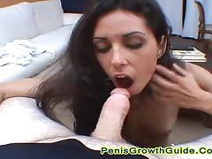 Big Tits Arianna Give A Good Blowjob