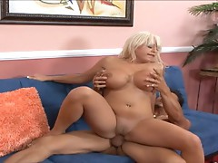 Savannah Gold bounces her moist pussy on this hard dick