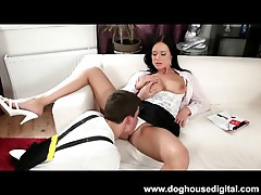MILF With Big Tits Fucked Hard by Teen Stud